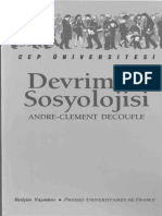 Devrimler Sosyolojisi - Andre-Clement Decoufle