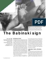 The Babinski Sign