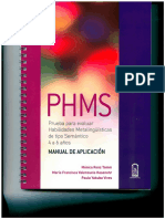 Manual de Aplicacion PHMS