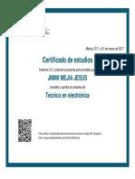 Certificado Técnico en Electrónica