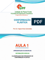 1 - Conformacao Plastica - Classificacao
