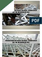 081 330 686 419 (TSEL) Pasang Atap Rangka Galvalum Surabaya