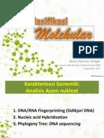 Klasifikasi Molekular