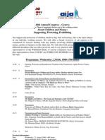 Programme session Genève 2006