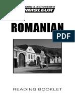 Romanian Phase1 Bklt