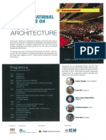 2nd MTC International Conference on Wood Architecture (9 November 2017)