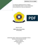 Proposal Tugas Akhir (Ridho Widyantama Putra, Universitas Sriwijaya)