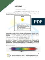 El Sol y La Electricidad