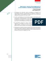 Educación Ciencia y Tecnología Para La Acción Climática Desafíos Para El Salvador - Aguilar 2017