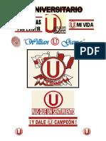 Universitario de Deportes - Letra de Canciones (Cánticos)