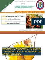 Situacion Industria Aceitera en El Peru y El Mundo