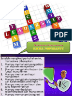 Teori Kepemimpinan Dan Management