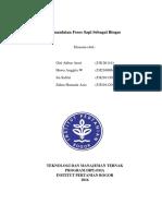 Pemanfaatan Fefes Sapi Sebagai Bahan Bakar Alternatif Biogas