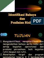 Identifikasi Bahaya & Penilaian Resiko - IBPR