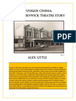 A Unique Cinema - The Elsternwick Theatre Story