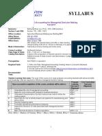 ACCT5133 Syllabus Fall 2017 Revised(1)