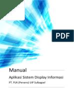Tutorial Sistem Display Informasi