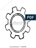 Stock Vector Isolated Gear Draw Icon Vector Illustration Graphic Design 540194206