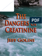 The Dangers of Creatinine - Jeff Golini