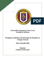 Temario Cirugía General Enero-junio 2017