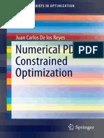 Numerical PDE -- Juan Carlos de Los Reyes