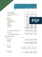 Blank Financial Model