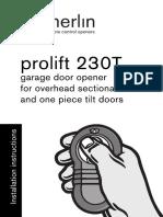 M230T Installation Manual