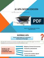 Norma Apa Sexta Edición