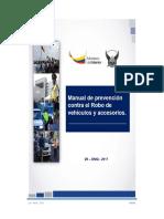 Manual de Prevención Contra El Robo de Vehículos y Accesorios