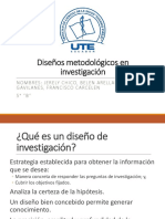 Diseño Investigacion