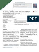 The 2015 ENFSI Fingerprint Working Group Testing