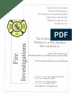 Marco Polo Fire Investigation