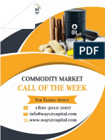 Commodity Research Report 16 October 2017 Ways2Capital