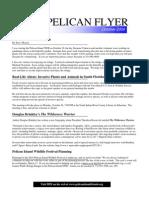 October 2009 Pelican Flyer Newsletter, Pelican Island Preservation Society