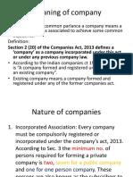 Company Law 2013
