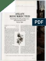 Aslan Resurrected