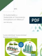 Desarrollo Sustentable Mexico Huatulco John McCarthy Presentation
