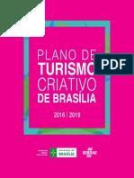 Plano de Turismo Criativo de Brasilia - 2016