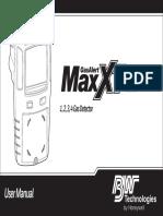 GasAlertMaxXT II User Manual 129541_EN_B
