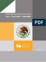 Programa Nacional de Cultura Eje7 Cultura y Turismo
