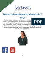 Ray Maor Self Development Workbook