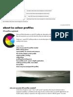 About Icc Colour Profiles, Icc Profiles Explained _ Colourmanagement