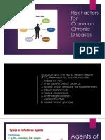 Risk Factors for Common Chronic Diseases
