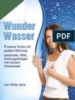 Wasser Macht Gesund
