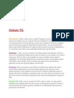 Transcripción TIC