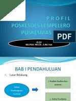 p r o f i l Poskesdes