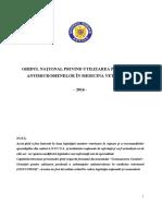 Ghidul Naţional Privind Utilizarea Prudentă a Antimicrobienelor În Medicina Veterinară