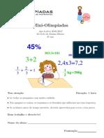 Matemática Divertida 3ano