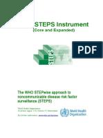 STEPS Instrument V3.1