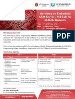 ARM Cortex M3 Workshop Dec14